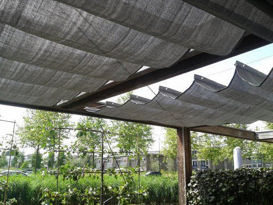 Schaduwdoek Bol Com.Schaduwdoek Harmonica Grijs 200x500cm Camobob Huis Jardines