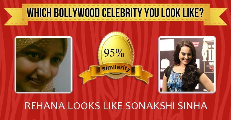 Check my results of Which Bollywood Celebrity You Look
