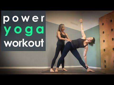 36 minutes power yoga workout  full body yoga flow