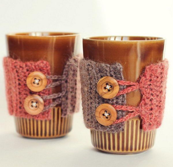 Exceptional 20 Cool Crochet Coffee Cozy Ideas U0026 Tutorials