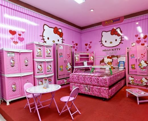 Hello Kitty Bedroom Ideas! Meow!