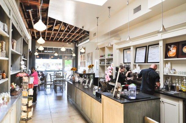 Caffe Luxxe in Santa Monica