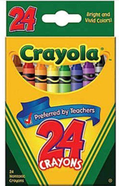 free crayola crayons