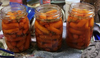 Retirement and Back to the Basics: Pickled Carrots and Apple Pie Filling