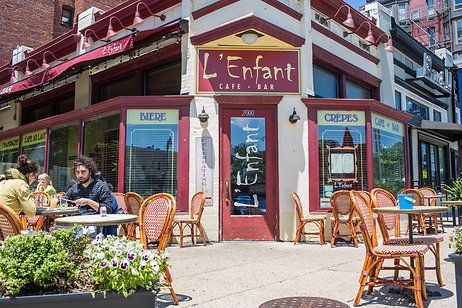 L Enfant French Restaurant Adams Morgan Northwest