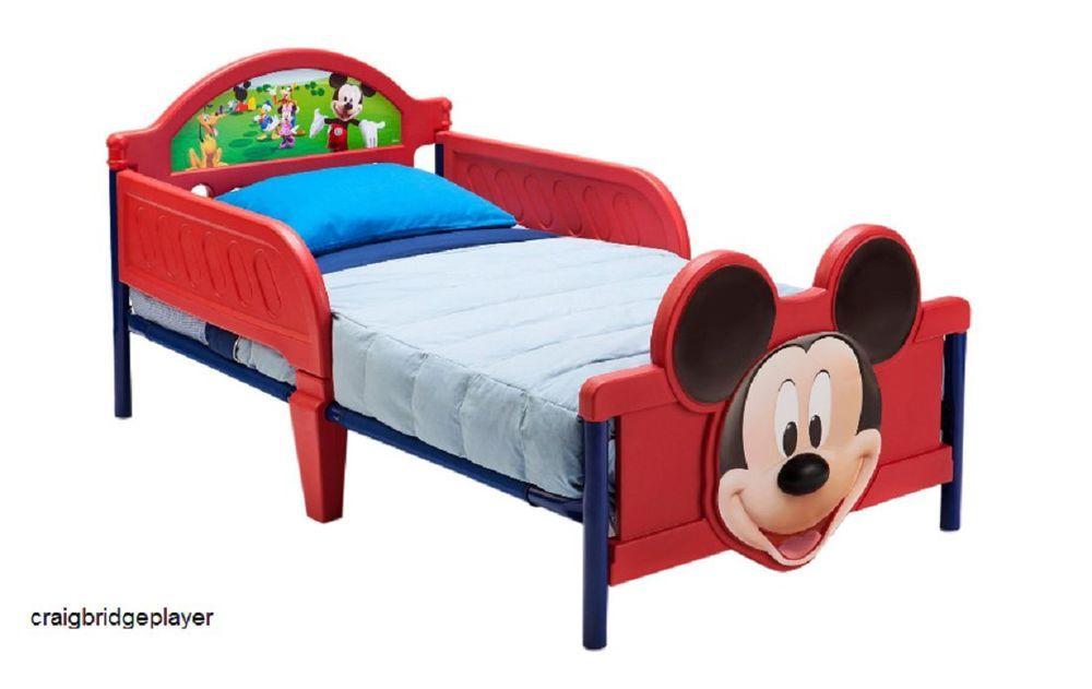 Enjoyable Boys Toddler Bed 3D Cot Room Kids Junior Children Mickey Unemploymentrelief Wooden Chair Designs For Living Room Unemploymentrelieforg