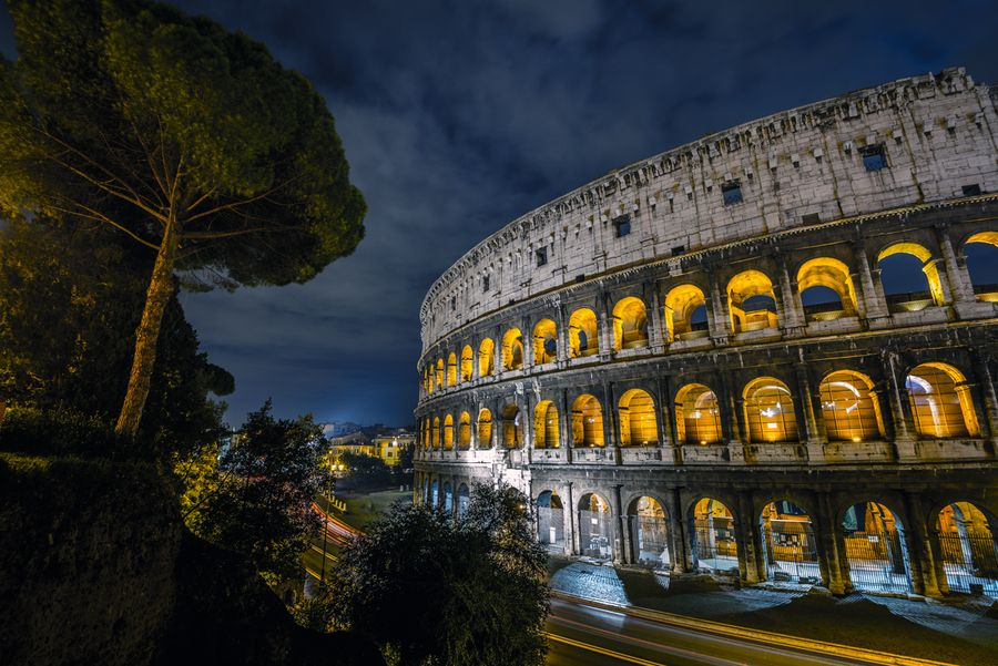 Roman Colosseum by Dainius Seven, via 500px