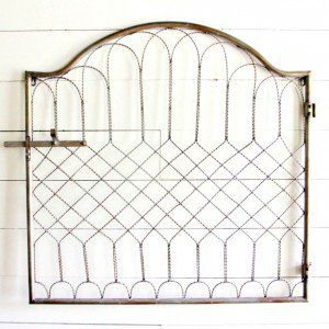 Metal Gate Wall Decor decorative metal gate wall panel | decor - metal wall decor