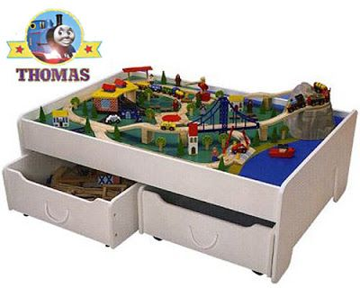 Thomas Train Toddler Sets on Thomas Tank Under The Bed Trundle Train Table Set Or The Train  sc 1 st  Pinterest & Thomas Train Toddler Sets on Thomas Tank Under The Bed Trundle Train ...