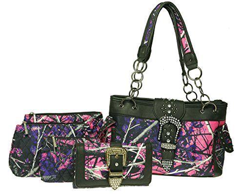 Muddy Girl Purple Concealed Carry Purse Buckle Wallet 3 Cosmetic Bags 5 Piece Set Monte Vista http://www.amazon.com/dp/B017HVVZ8U/ref=cm_sw_r_pi_dp_kKpswb1Z5P3ZV