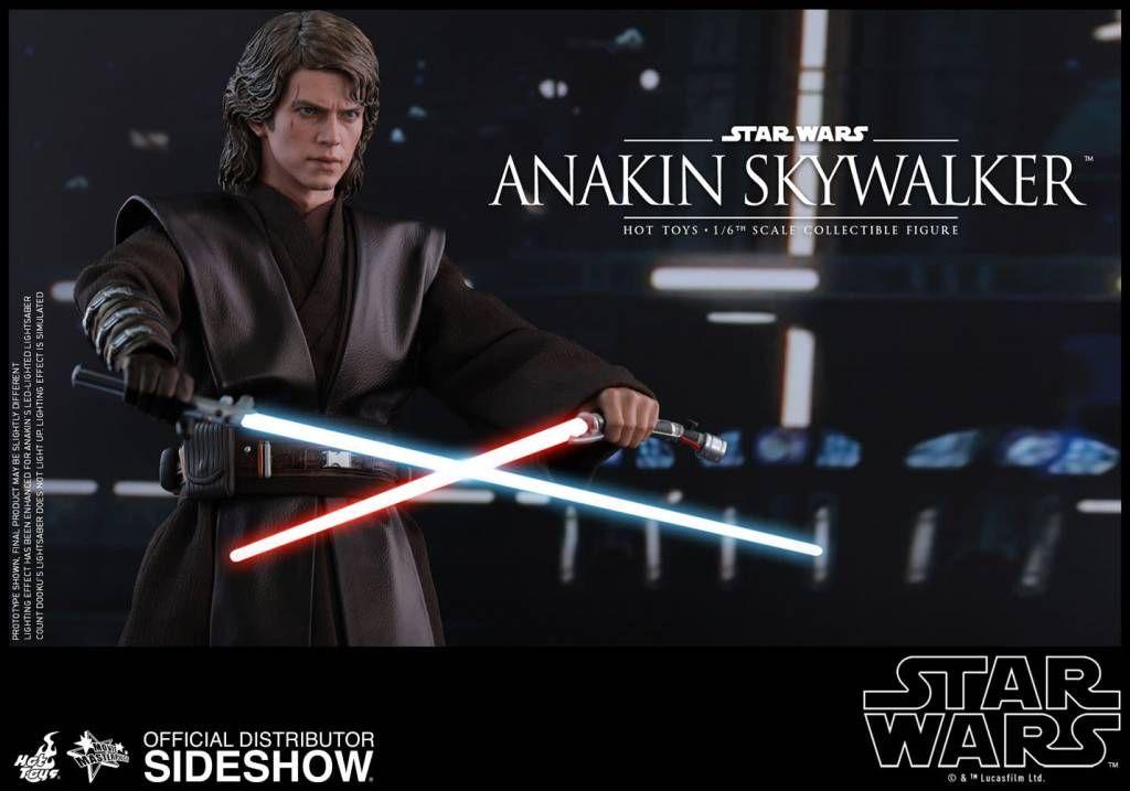Star Wars Episode Iii Anakin Skywalker 1 6 Scale Figure Star Wars Anakin Star Wars Episodes Anakin Skywalker