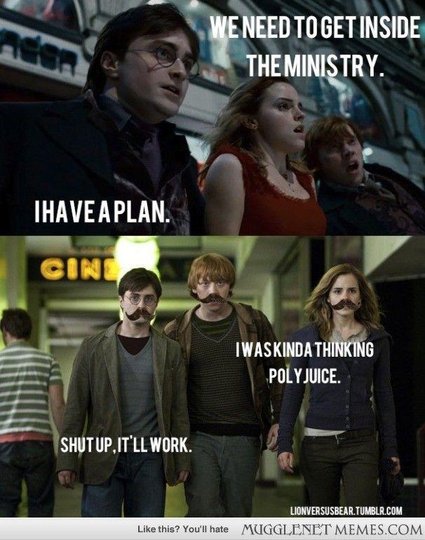 Funny Work Meme Tumblr : Mustaches always work laughs pinterest harry potter
