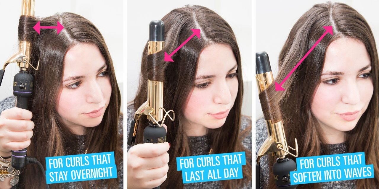How to curl your hair the right way.