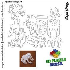 Arquivos para download cnc laser 3d puzzle brasil 01 for Puzzle cutting board plans