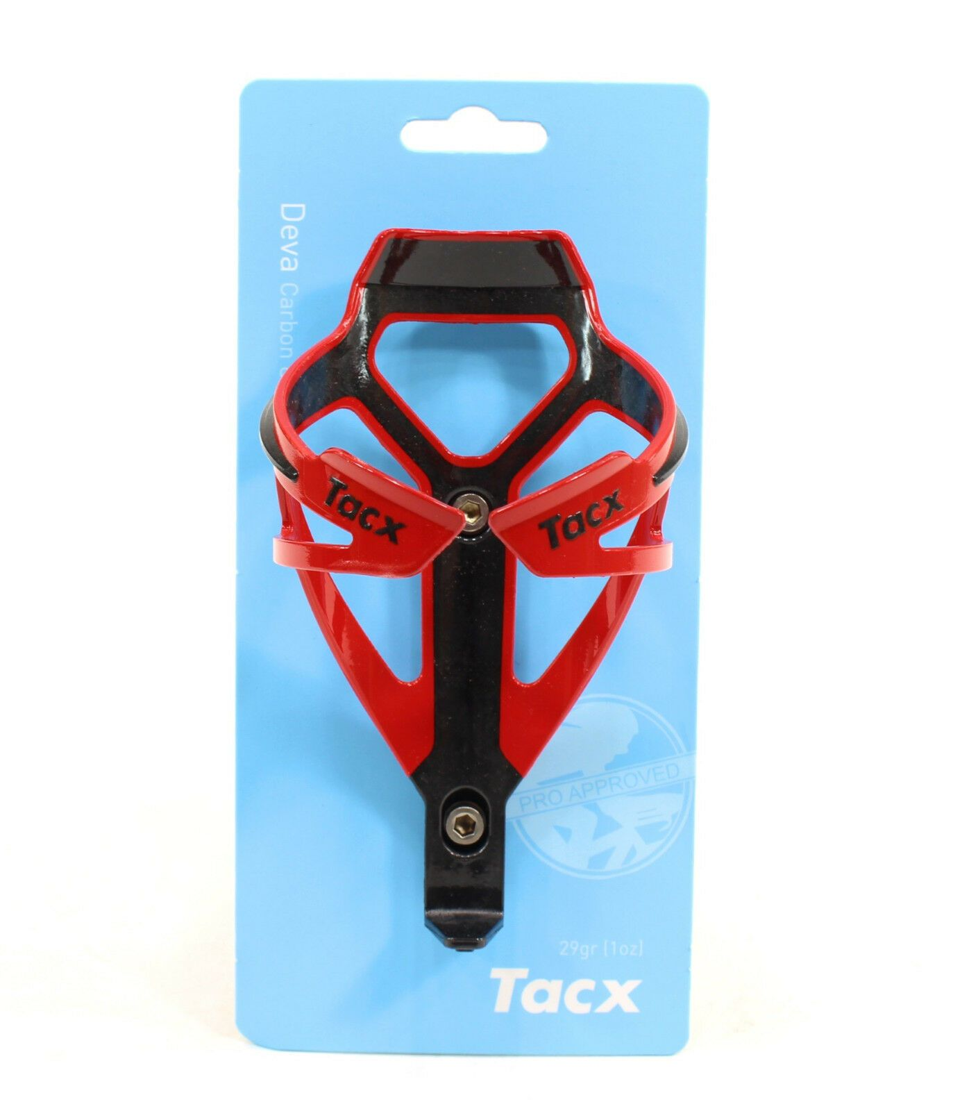 Black TACX Deva Bicycle Cycling Water Bottle Cage 29 Grams