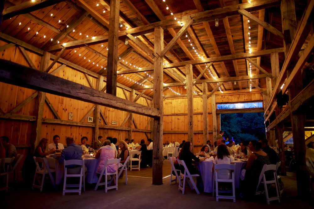 rustic barn wedding venue in strafford nh classic red barn with separate bar and