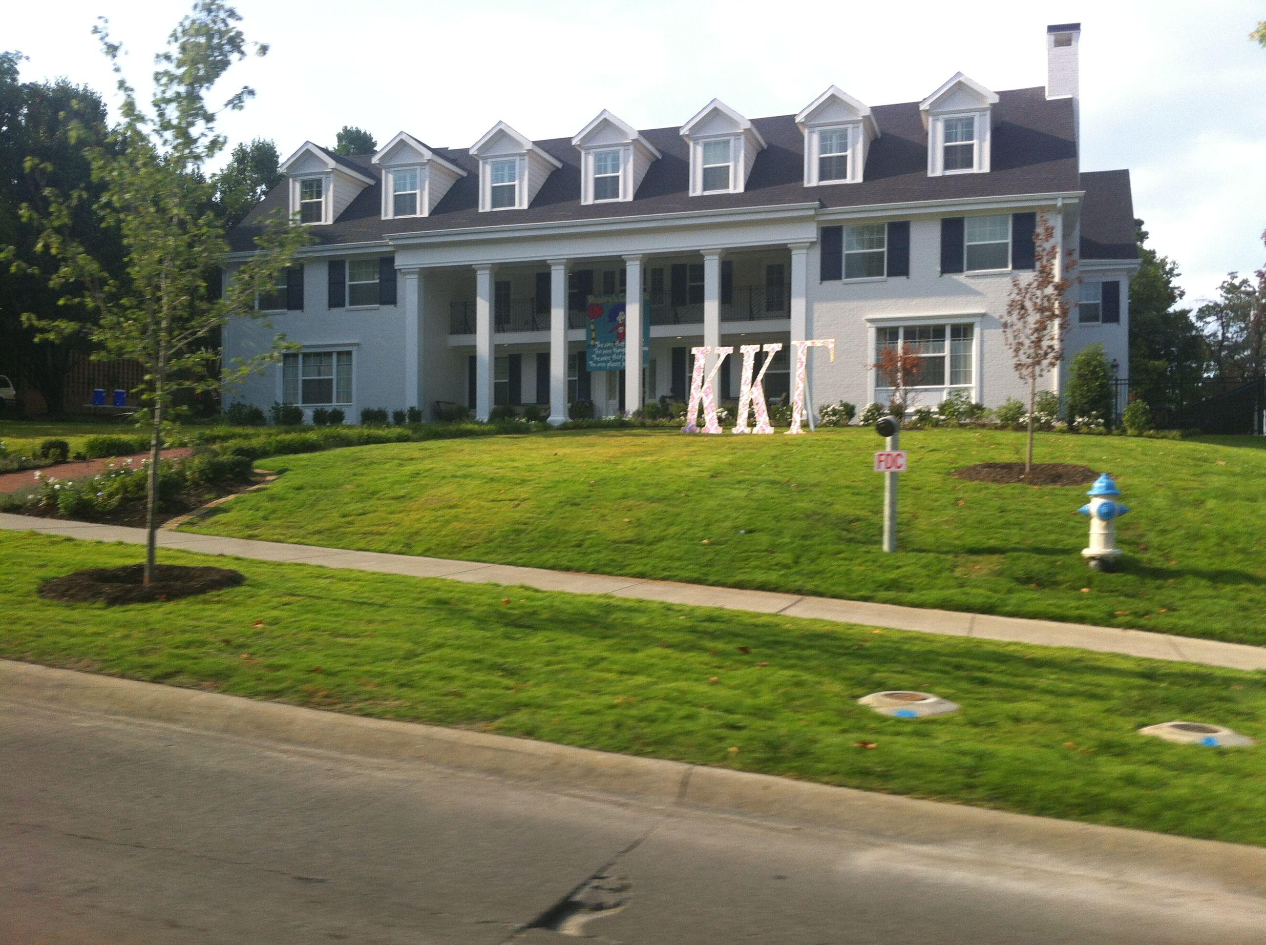 kappa kappa gamma house at Arkansas House styles, House