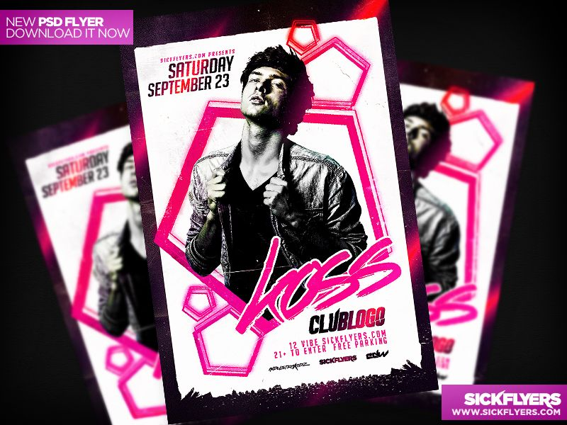 Electronic Flyer Template PSD By Industrykidzdeviantartcom On - Electronic flyers templates