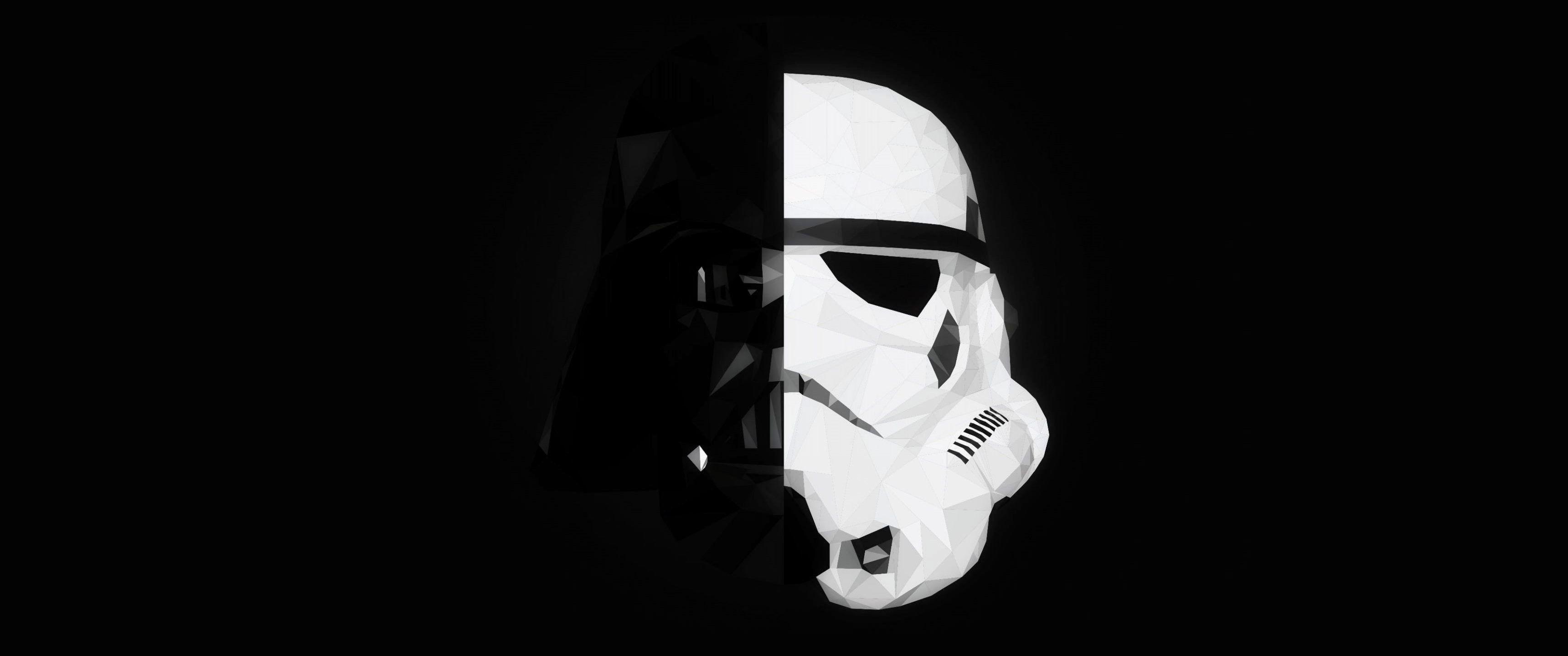 Stormtrooper Darth Vader Star Wars Mask Splitting