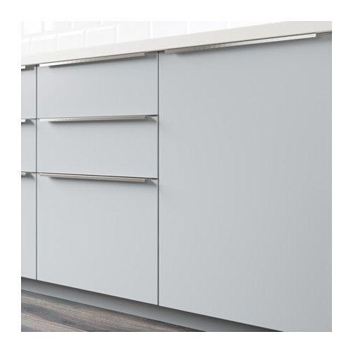 Veddinge Front Voor Vaatwasser Grijs Keukens Ikea Kitchen