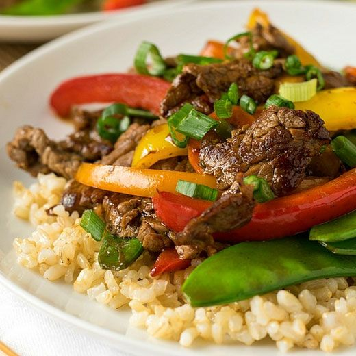 Beef teriyaki and vegetables recipe healthy stir fry chinese beef teriyaki and vegetables easy chinese food recipeshealthy forumfinder Image collections