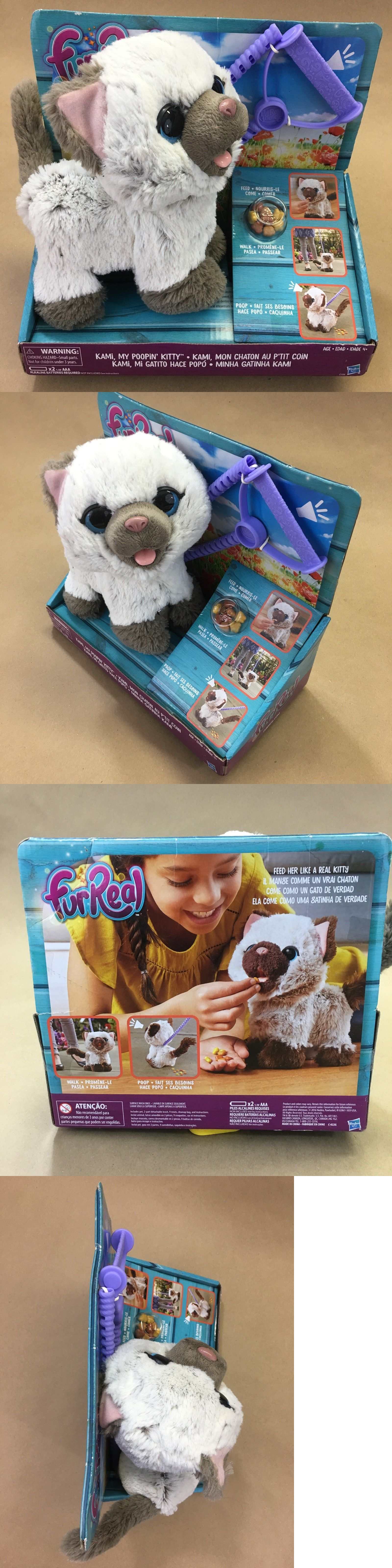 Furreal Friends 38288 New Fur Real Friends My Poopin Kitty Pet