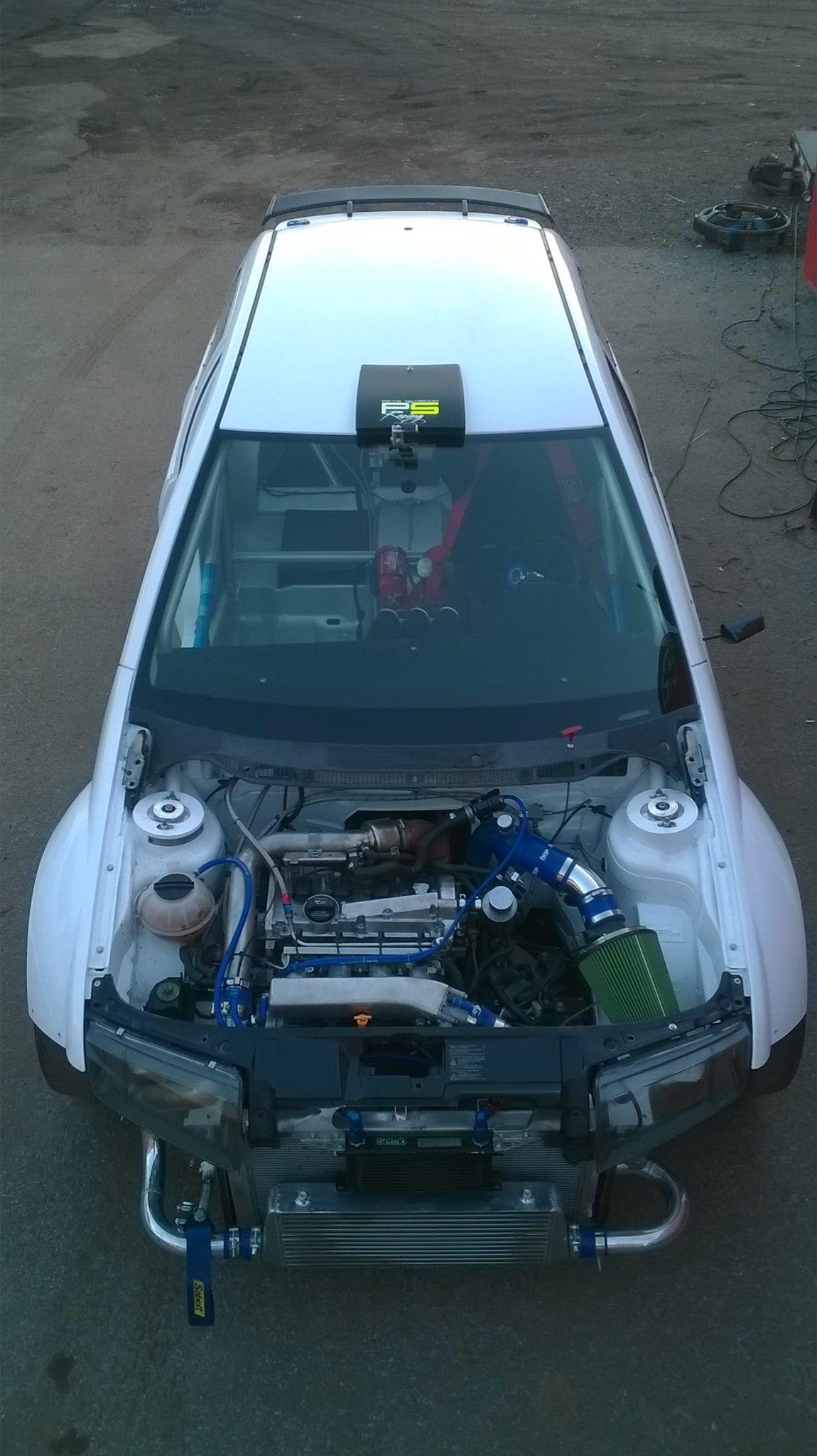 škoda Fabia With An Audi Tt 18t And Quattro 4wd Drivetrain Engine
