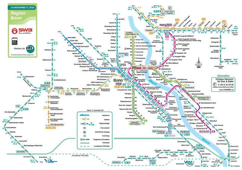 Bonn SWB Bus und Bahn
