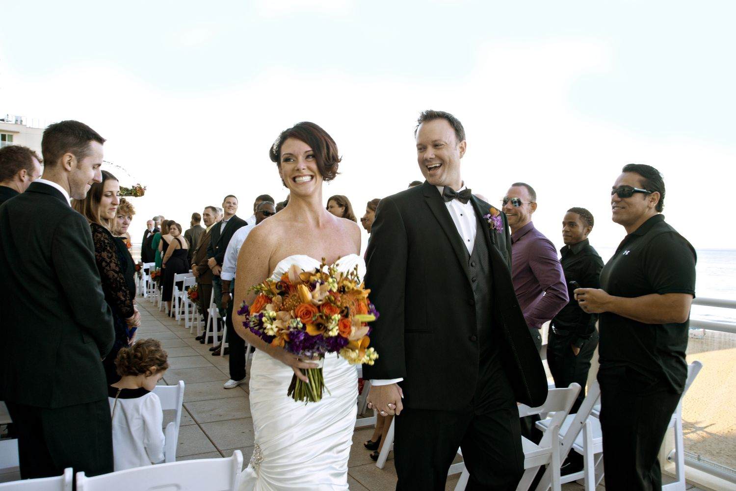 Wedding At Hilton Garden Inn Virginia Beach Oceanfronts Sundeck