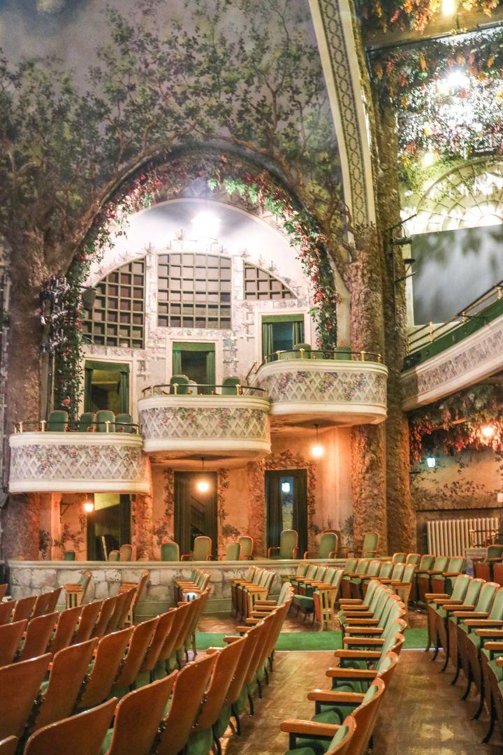 Behind The Scenes At Elgin Winter Garden Theatre Centre Winter Garden Theatre Winter Garden Rooftop Garden