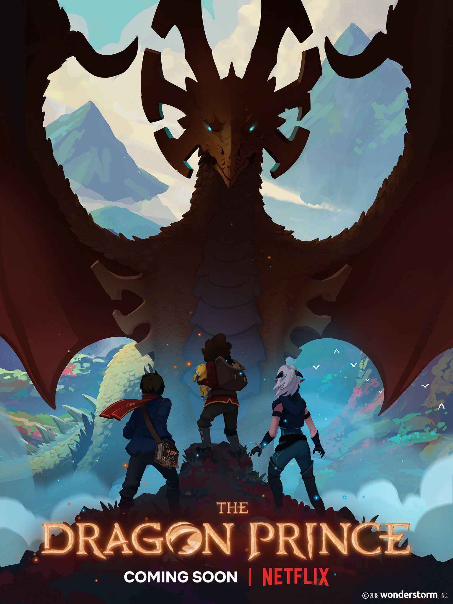 The Dragon Prince Poster Prince Poster Prince Dragon The Last Airbender