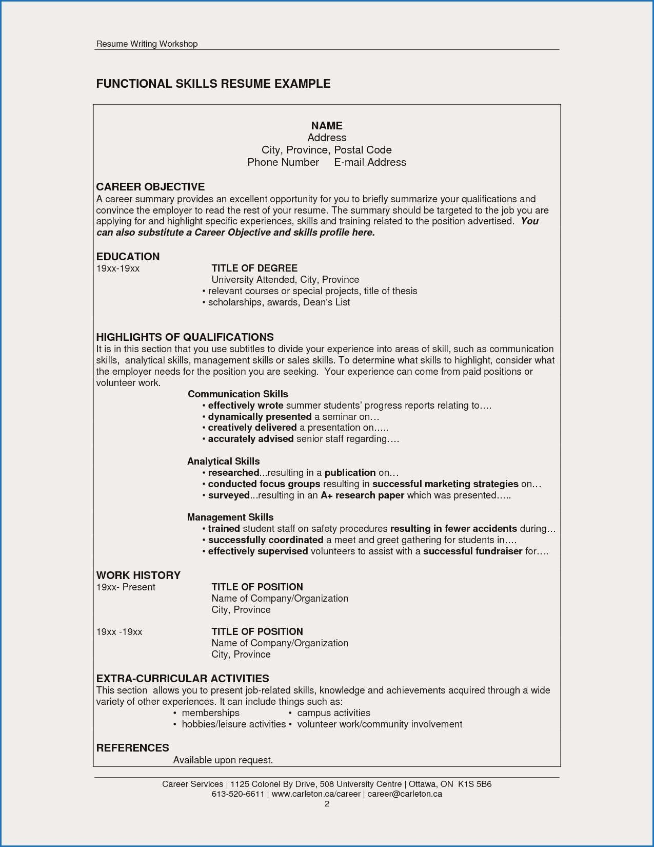 13 Resume Examples For Catering Manager