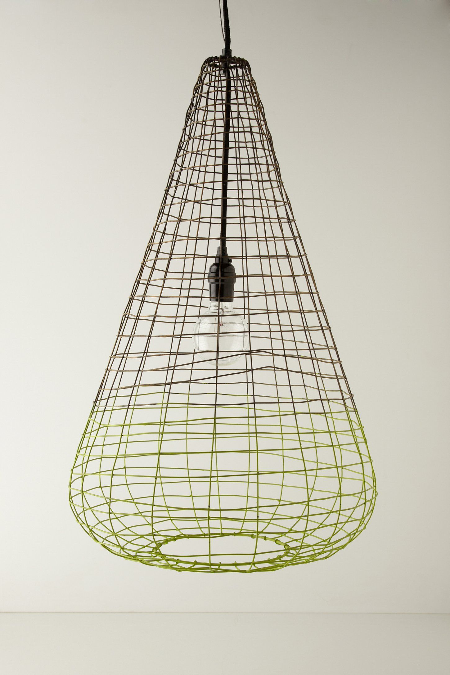 Small Woven Wire Pendant Lamp - Anthropologie.com | furniture / home ...