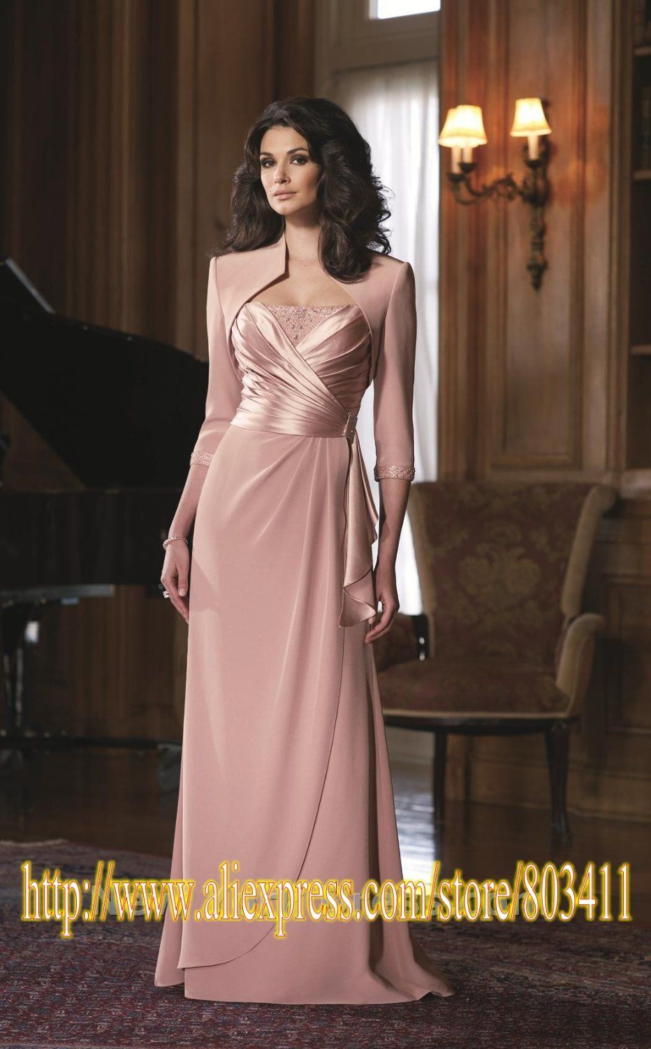 Free Shipping New Style Gorgeous Mother of the Bride Dress with ...