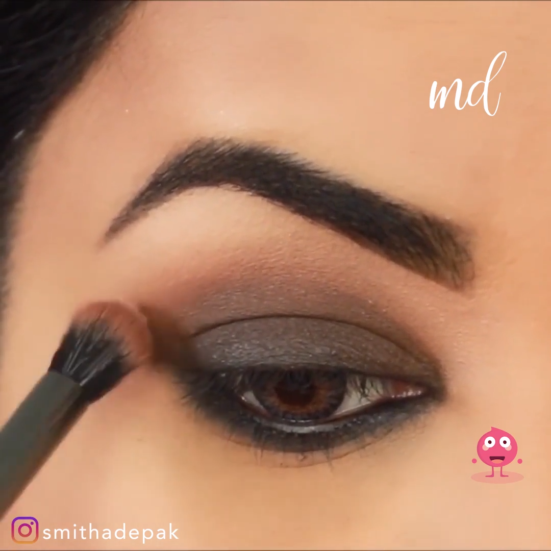 Photo of BROWN SMOKEY EYE FALL MAKEUP IDEA LOOK TUTORIAL