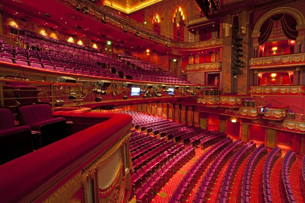 Prince Edward Theatre Virtual Seating Plan Prince Edward Theatre Seating Plan London Theatre