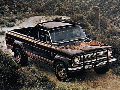 Jeep J10 Golden Eagle 1978 Jeep Pickup Truck Jeep Golden