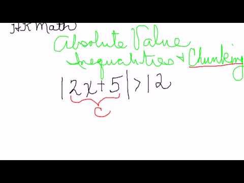 By Simplifying The Argument Of This Absolute Value Inequality And Thinking Of The Meaning Of Absolute Absolute Value Inequalities Math Formulas Absolute Value