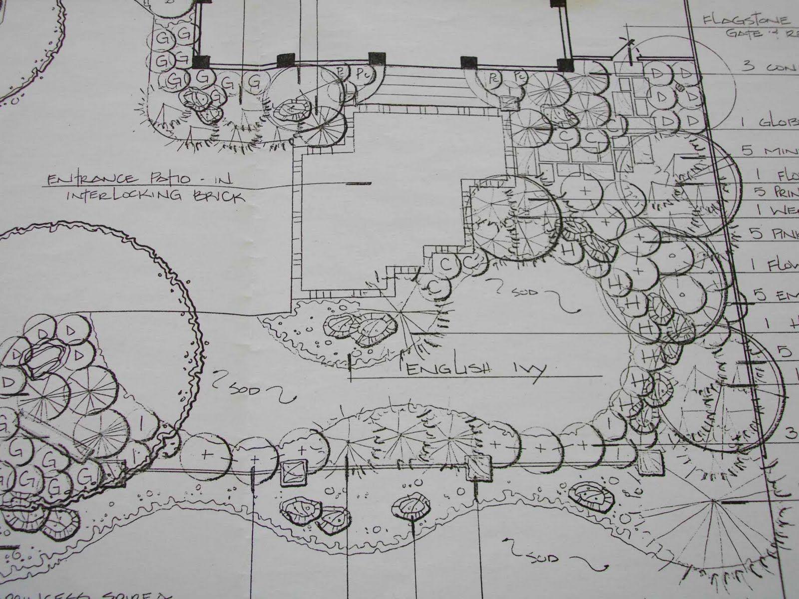 Exquisite Landscape Plan Drawing 8 Landscape Plan Drawings ...