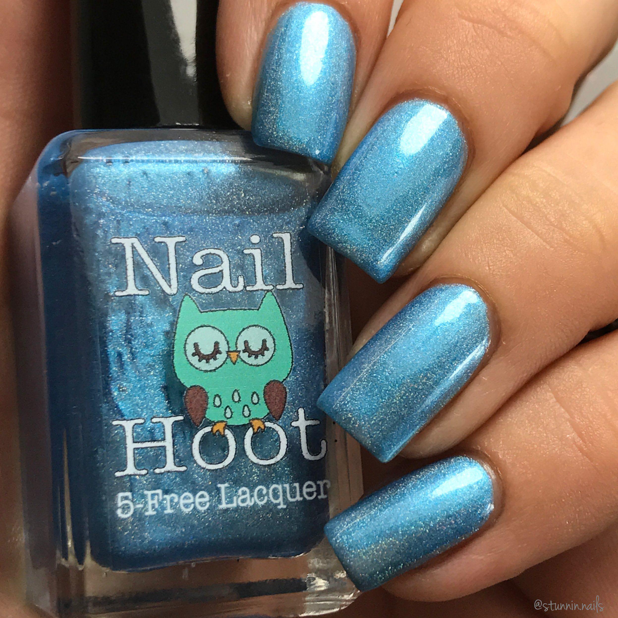 March Aquamarine Birthstone Indie Nail Polish | Aquamarines, Nail ...