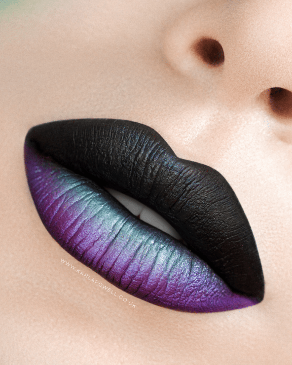 Halloween Lip Art By Karla Powell #lipmakeup #lip #makeup ...