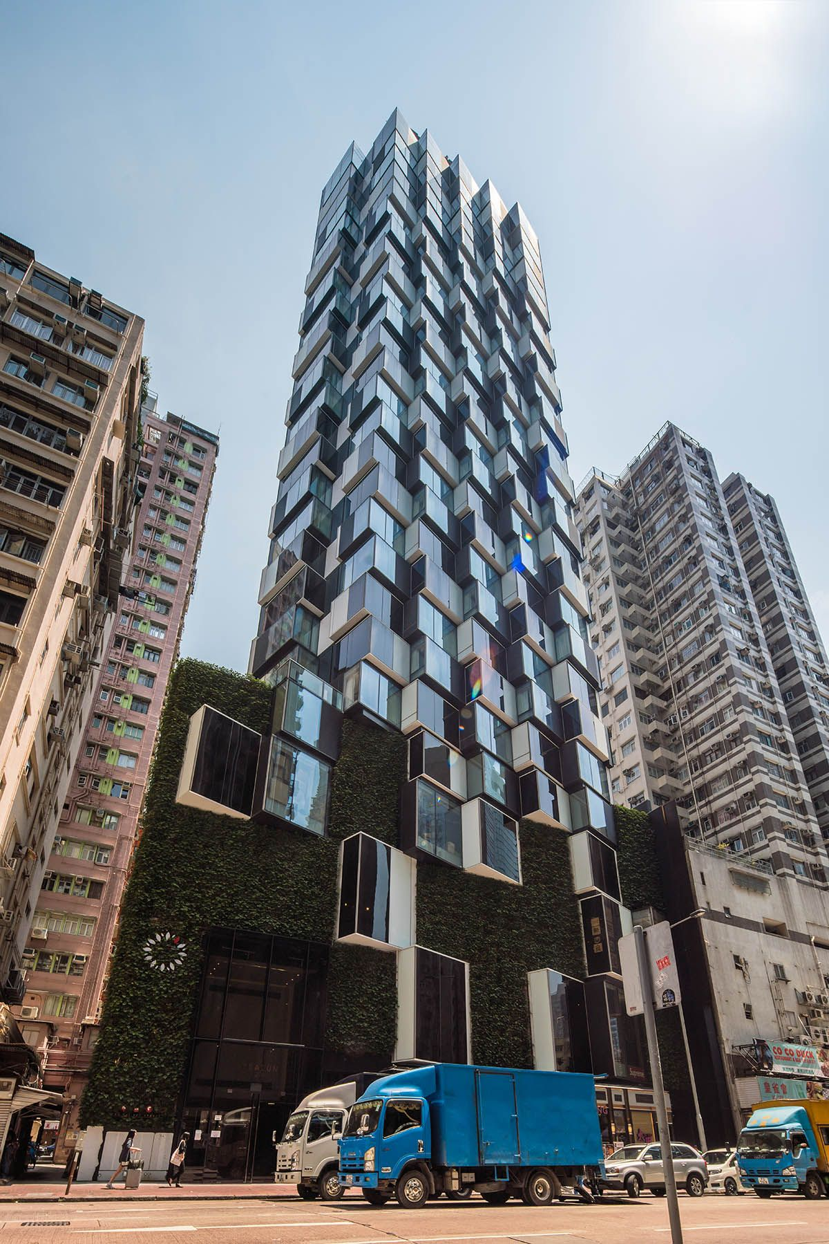 Aedas Completes Hotel Tower With Irregular Protrusions In Hong Kong