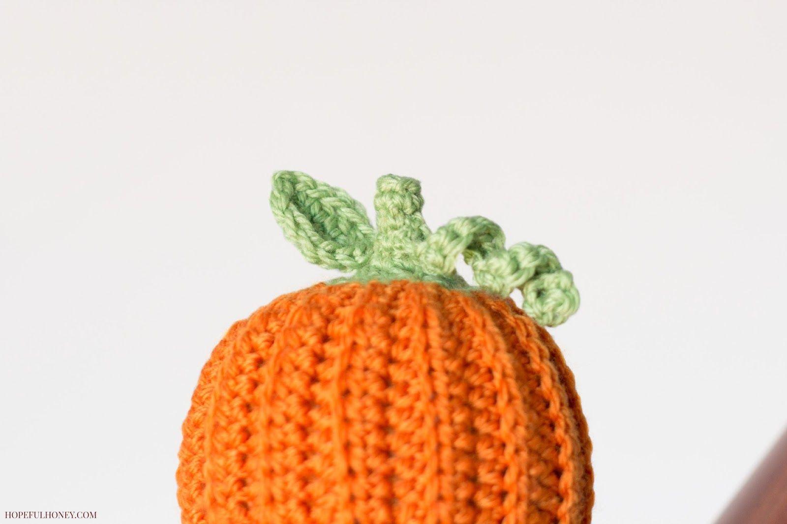 Newborn Pumpkin Hat Crochet Pattern | Pinterest