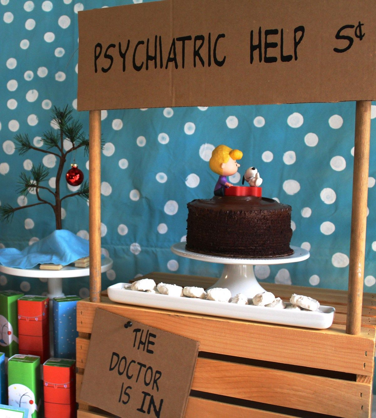 Work Christmas Party Theme Ideas Part - 37: Charlie Brown Christmas Party - Everyday Party Magazine