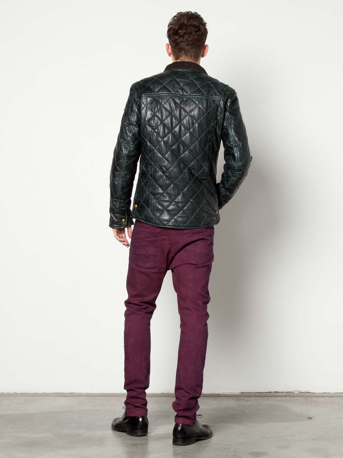 Leather Quilted Jacket > Mens Clothing > Jackets at Scotch & Soda ... : scotch and soda quilted leather jacket - Adamdwight.com