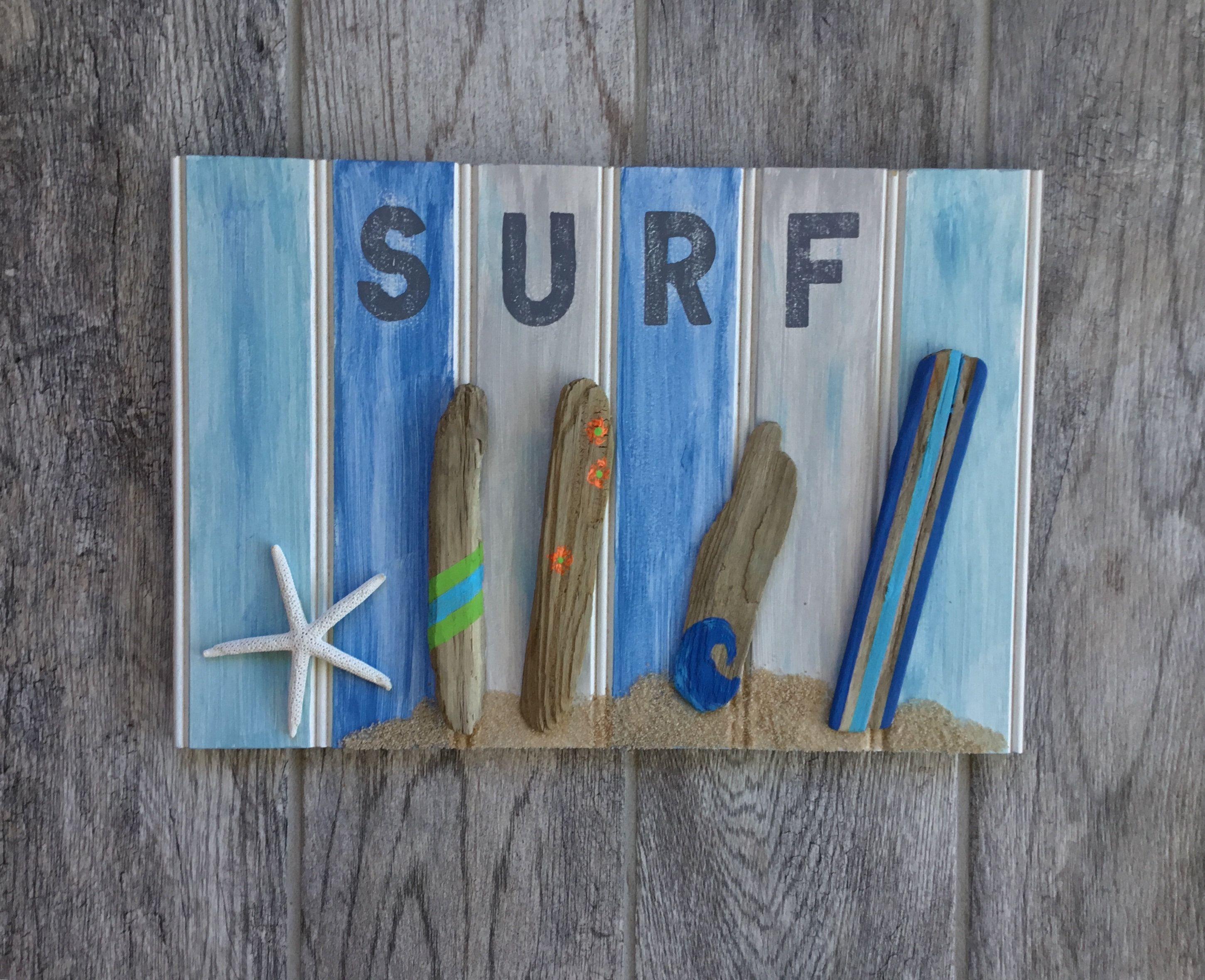 Driftwood Surfboard Wall Art Driftwood Surfboards Surfboards