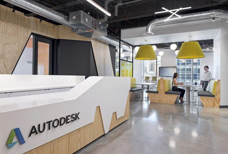 Office Tour Autodesk Offices Denver Corporate Interiors