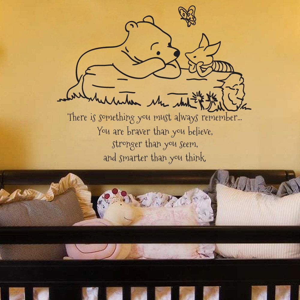 Pooh Bear Quote   Kids   Pinterest   Piglets, Wall decals and Child