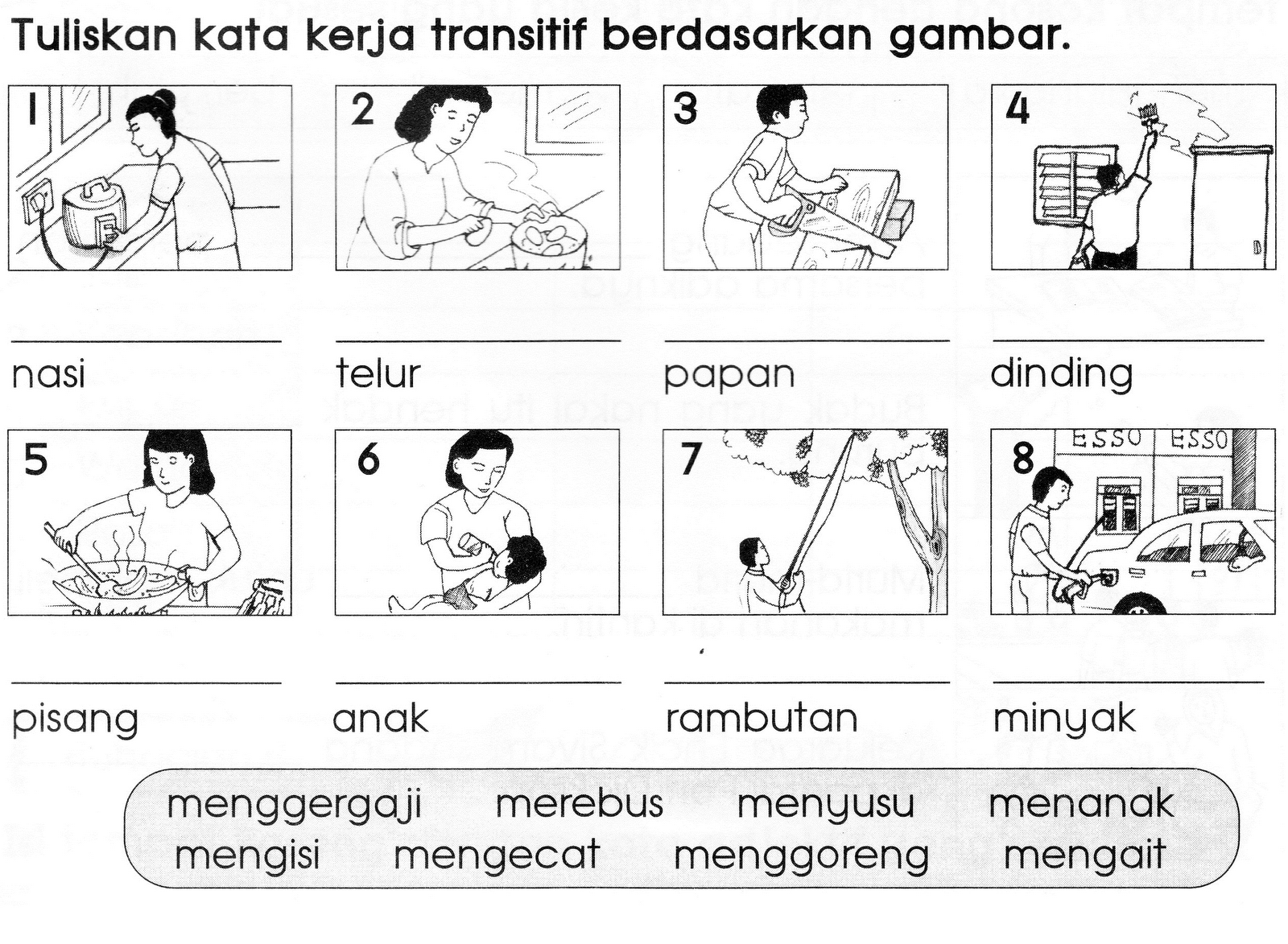 Image Result For Contoh Kata Kerja Bahasa Melayu