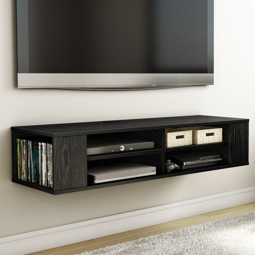 Pin By Katherine Stadler On 10 Yr Old Boy S Room Wall Mounted Media Console Wall Mount Tv Stand Floating Media Cabinet